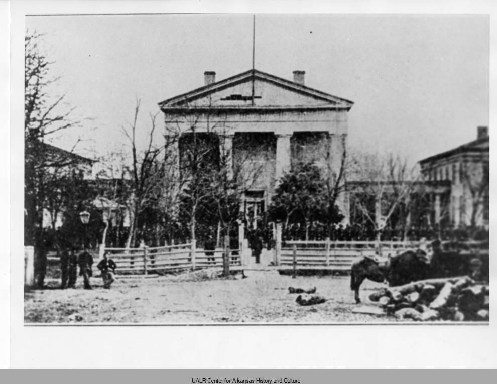 Old State House 1863 - Arkansas Studies Institute