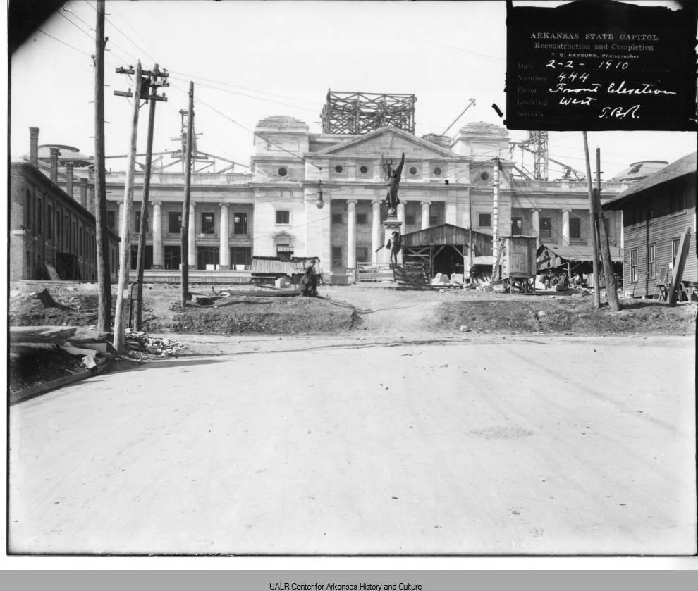 Construction of the Capitol 1910 -Butler Center for Arkansas Studies